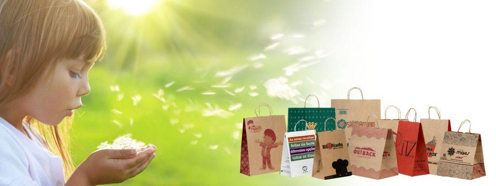 Sacolas de Papel Personalizadas - Ricapel Embalagens