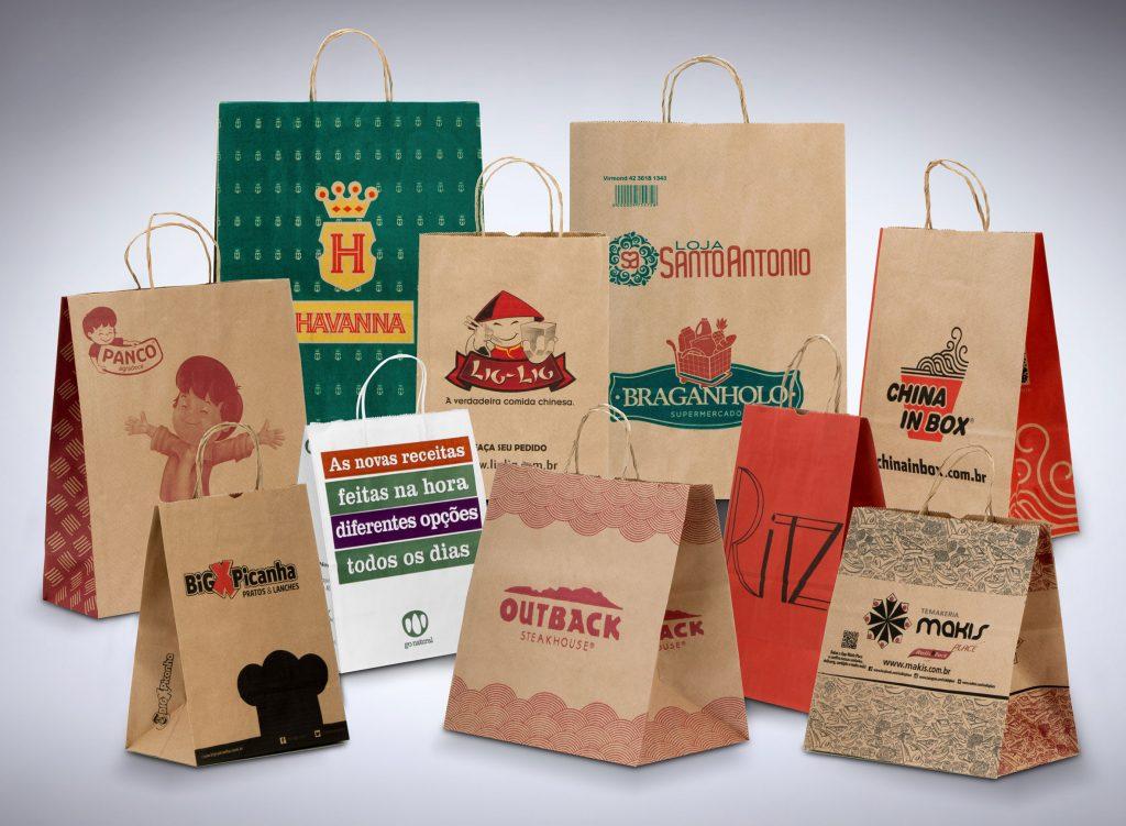 sacolas kraft industria alimenticia